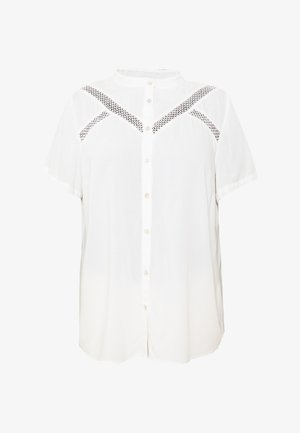 MISABELLA SHIRT - Button-down blouse - snow white
