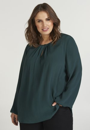 Blouse - dark green