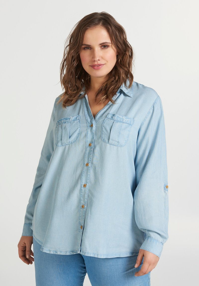 Zizzi - Blouse - light blue