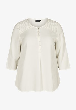 3/4 SLEEVED BLOUSE - Camicetta - off-white