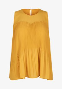 Zizzi - Bluse - dark yellow - 3