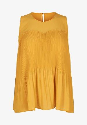 Bluse - dark yellow