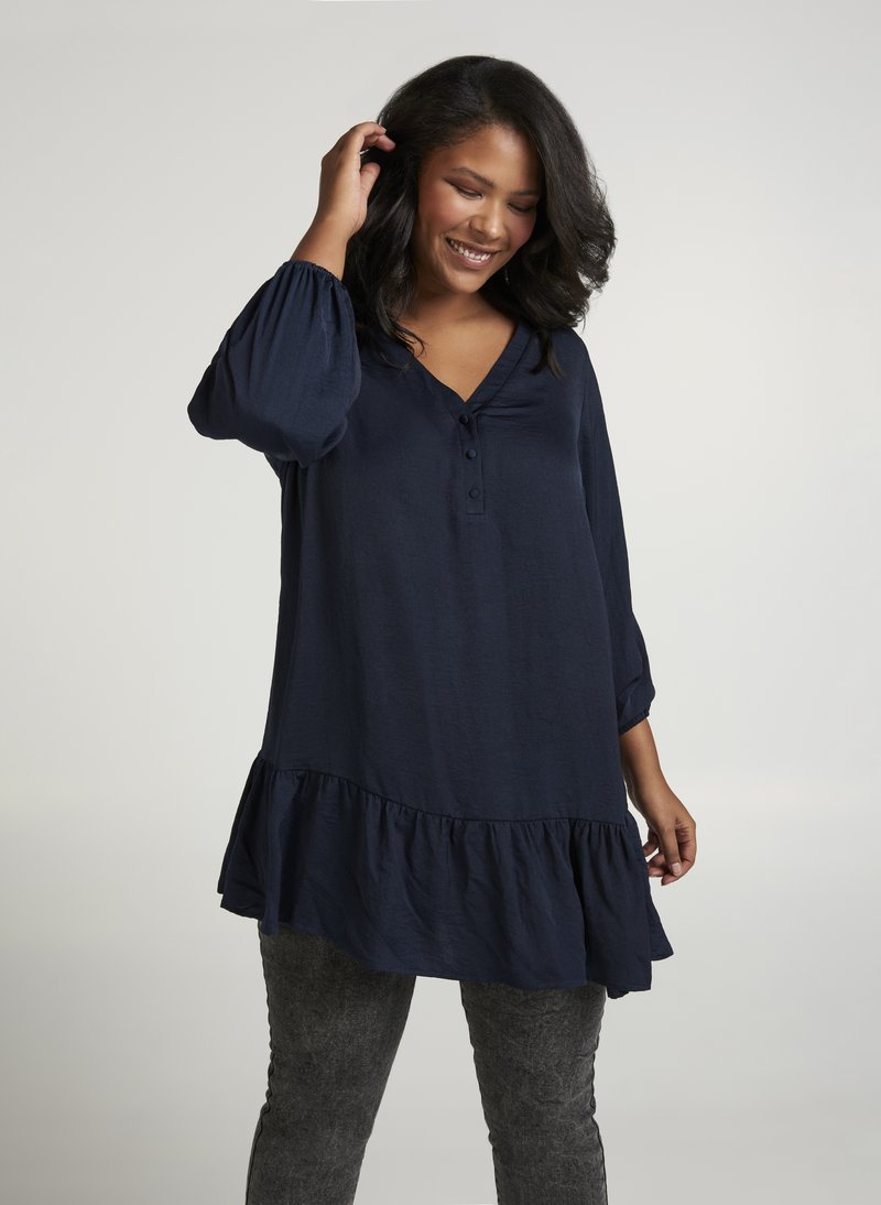 Zizzi - Tunic - dark blue