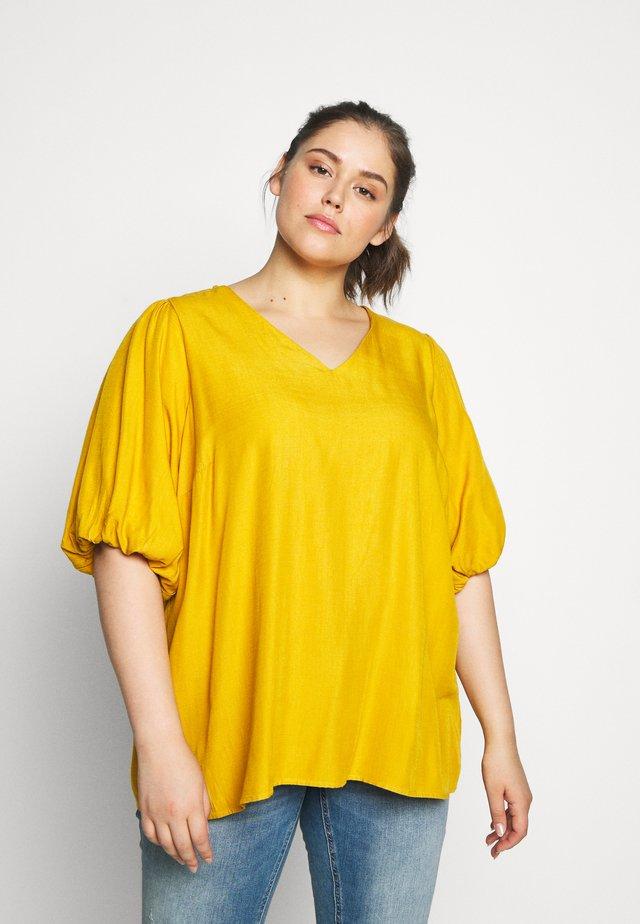 XPURY - Bluse - golden yellow