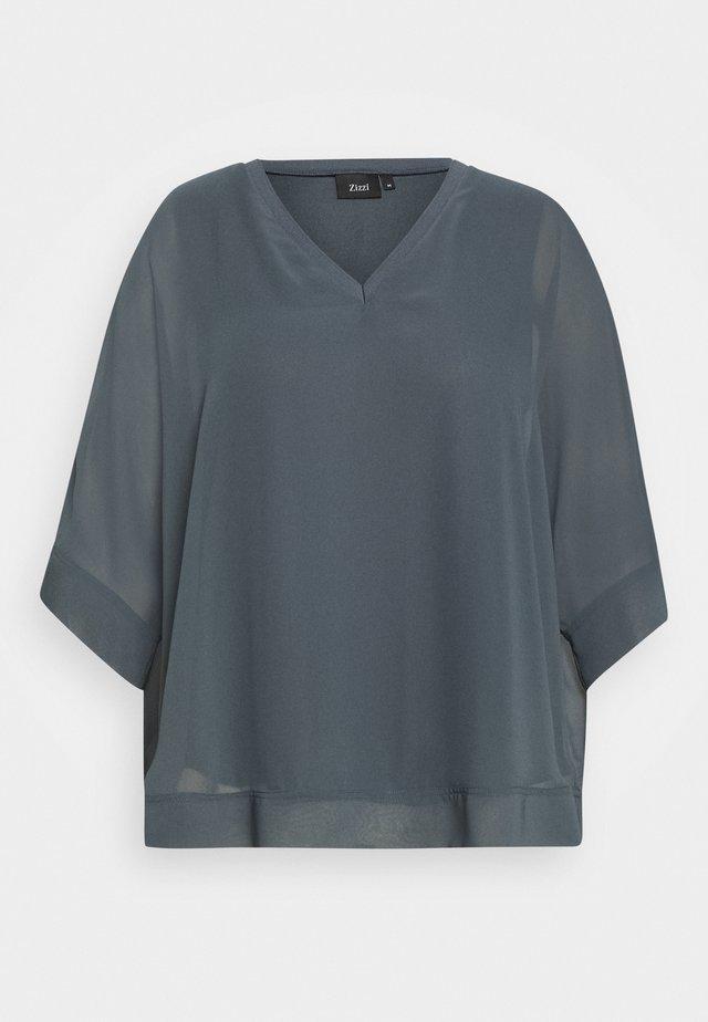 3/4 BLOUSE - Bluse - dark slate