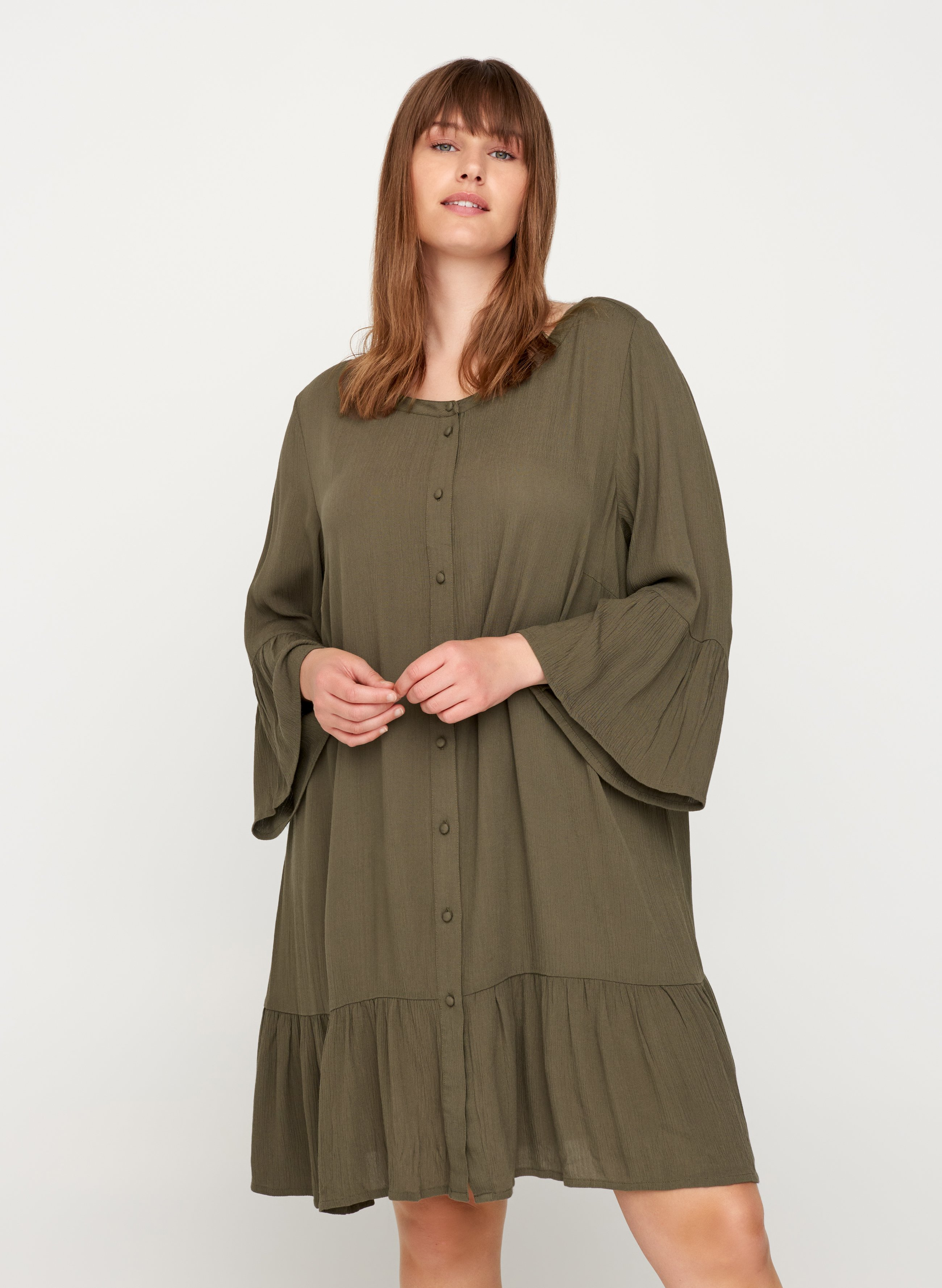 Zizzi Tunique green ZALANDO.FR