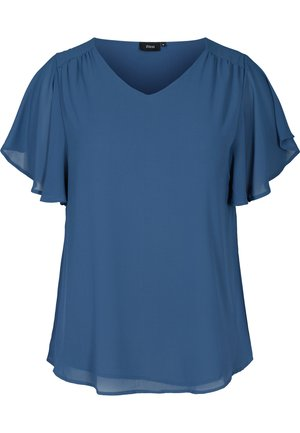 XJAGGER - Blouse - dark blue