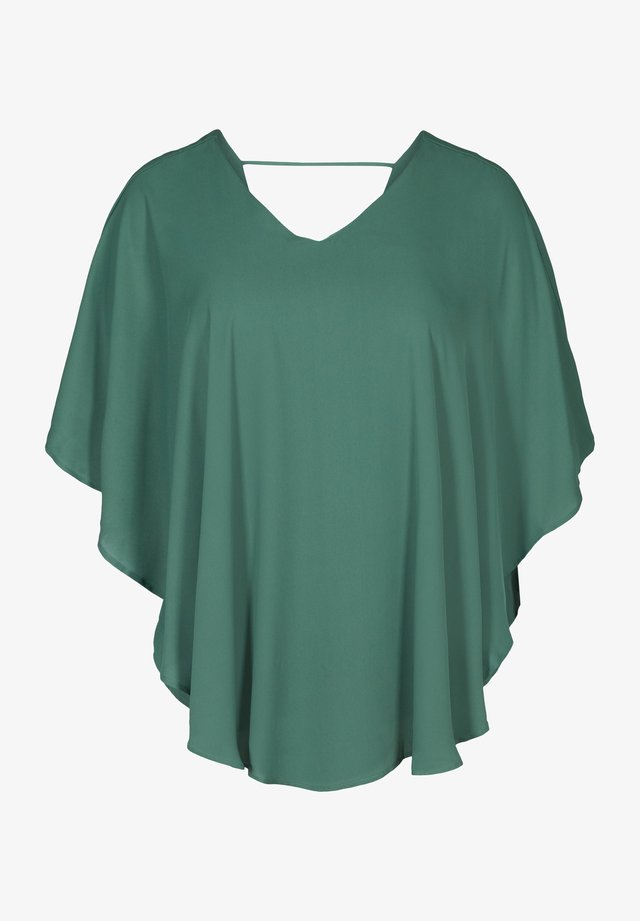 Bluse - dark green