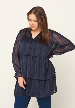TUNIKA - Tunic - dark blue