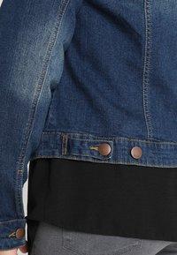 Zizzi - LONG SLEEVE - Veste en jean - blue denim - 5