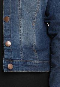 Zizzi - LONG SLEEVE - Jeansjakke - blue denim - 3