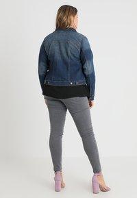 Zizzi - LONG SLEEVE - Jeansjakke - blue denim - 2