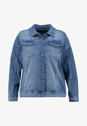 MACCALIA JACKET - Džínová bunda - light blue denim