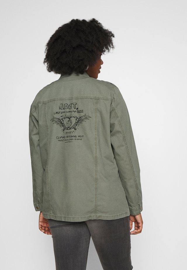 JALICE JACKET - Lehká bunda - ivy green