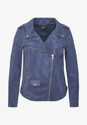 ESUS JACKET - Faux leather jacket - blue