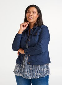 Zizzi - Denim jacket - dark blue - 0