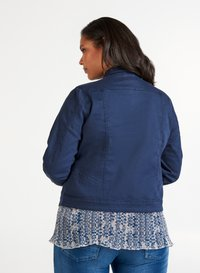 Zizzi - Denim jacket - dark blue - 2