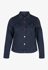 Zizzi - Denim jacket - dark blue - 3