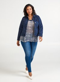 Zizzi - Denim jacket - dark blue - 1