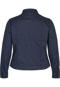 Zizzi - Denim jacket - dark blue - 4