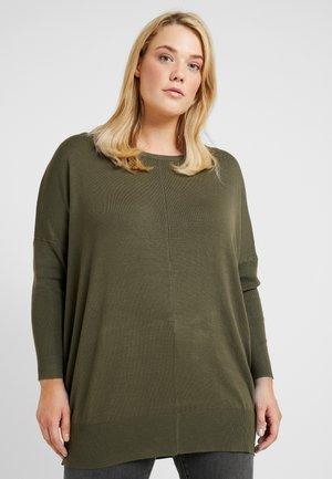 OCARRIE  - Stickad tröja - ivy green