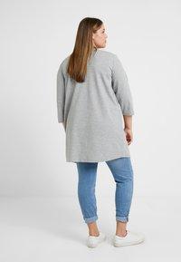 Zizzi - JANE - Cardigan - light grey - 2