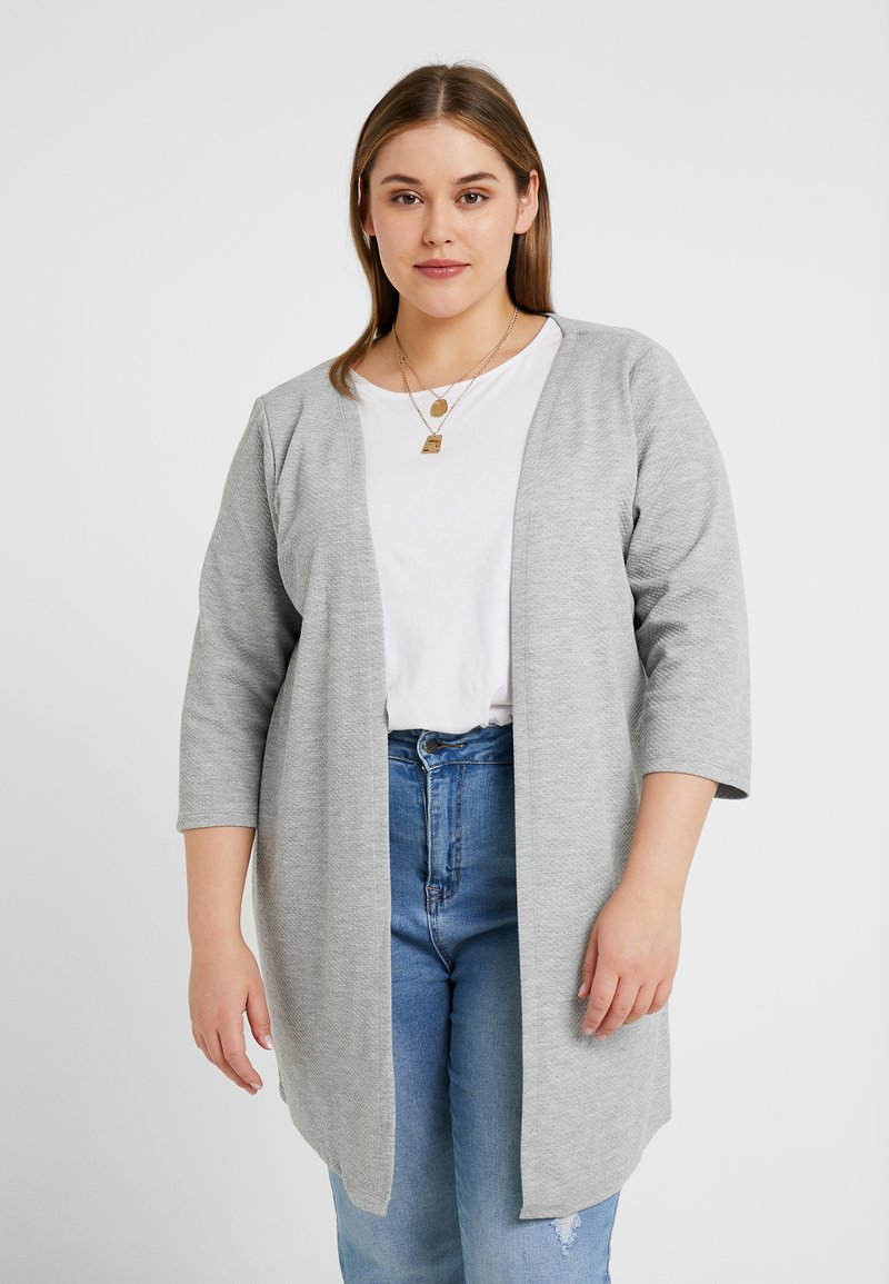 Zizzi - JANE - Cardigan - light grey