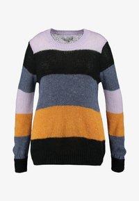 Zizzi - Stickad tröja - lavender comb - 3