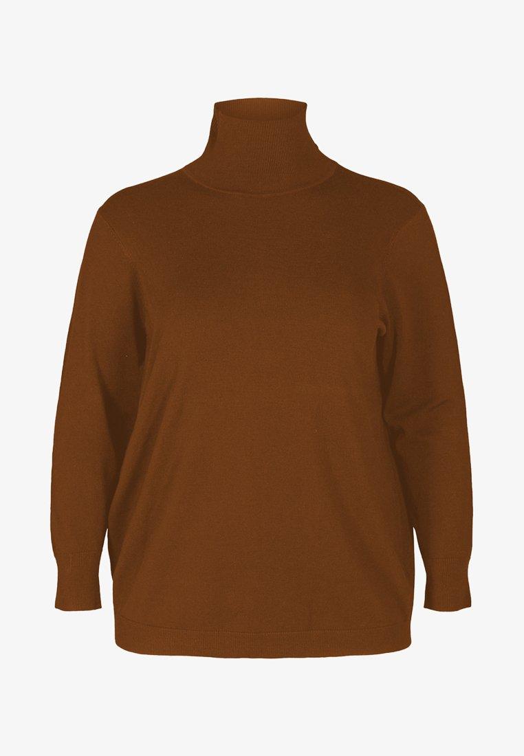 Zizzi - Pullover - camel