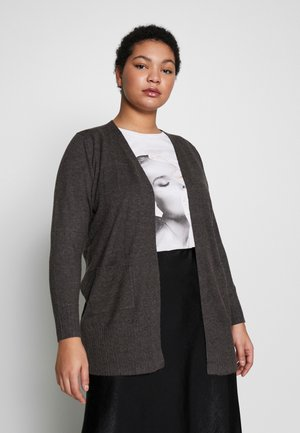 MAVA CARDIGAN - Vest - dark grey