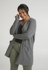 Zizzi - Cardigan - dark grey - 0