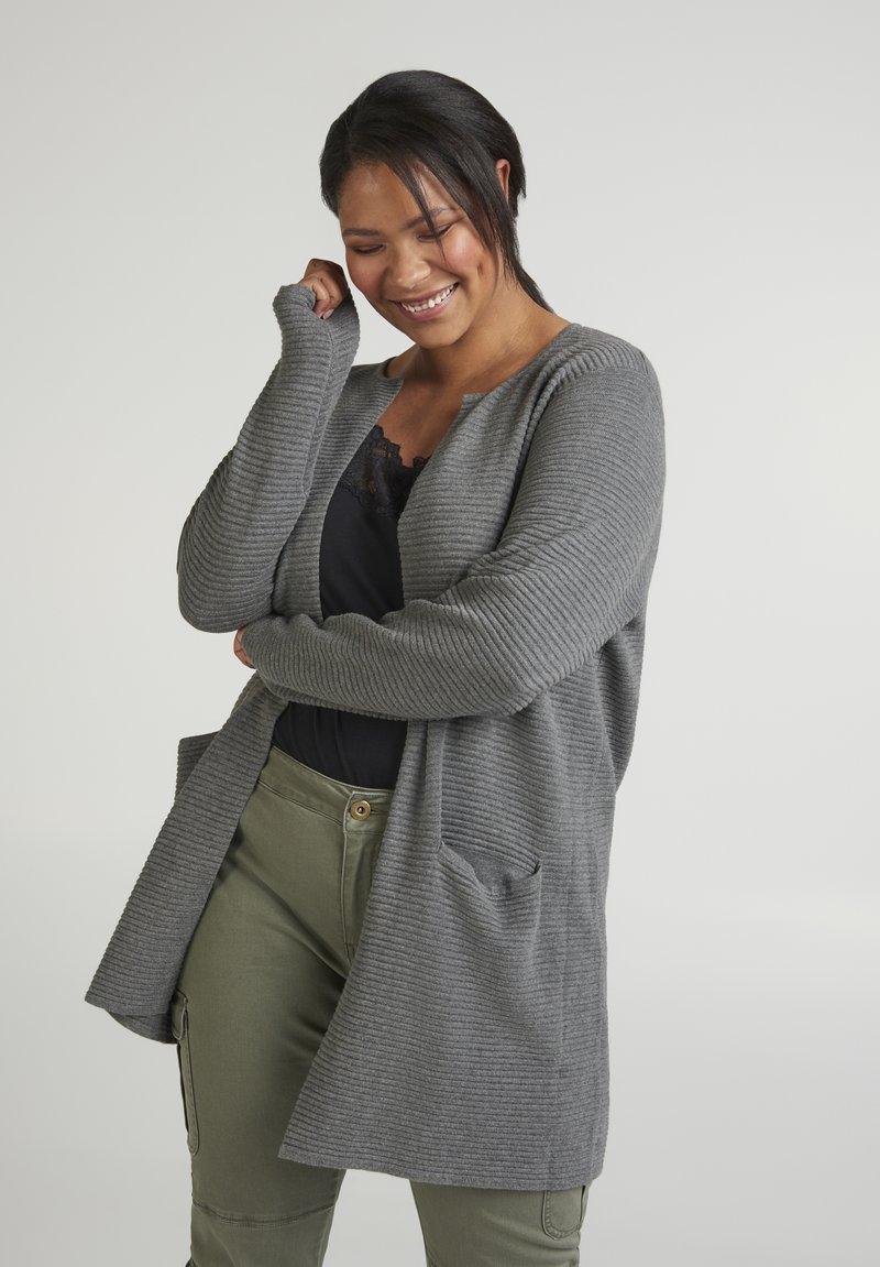 Zizzi - Cardigan - dark grey