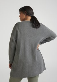 Zizzi - Cardigan - dark grey - 2