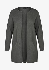 Zizzi - Cardigan - dark grey - 5