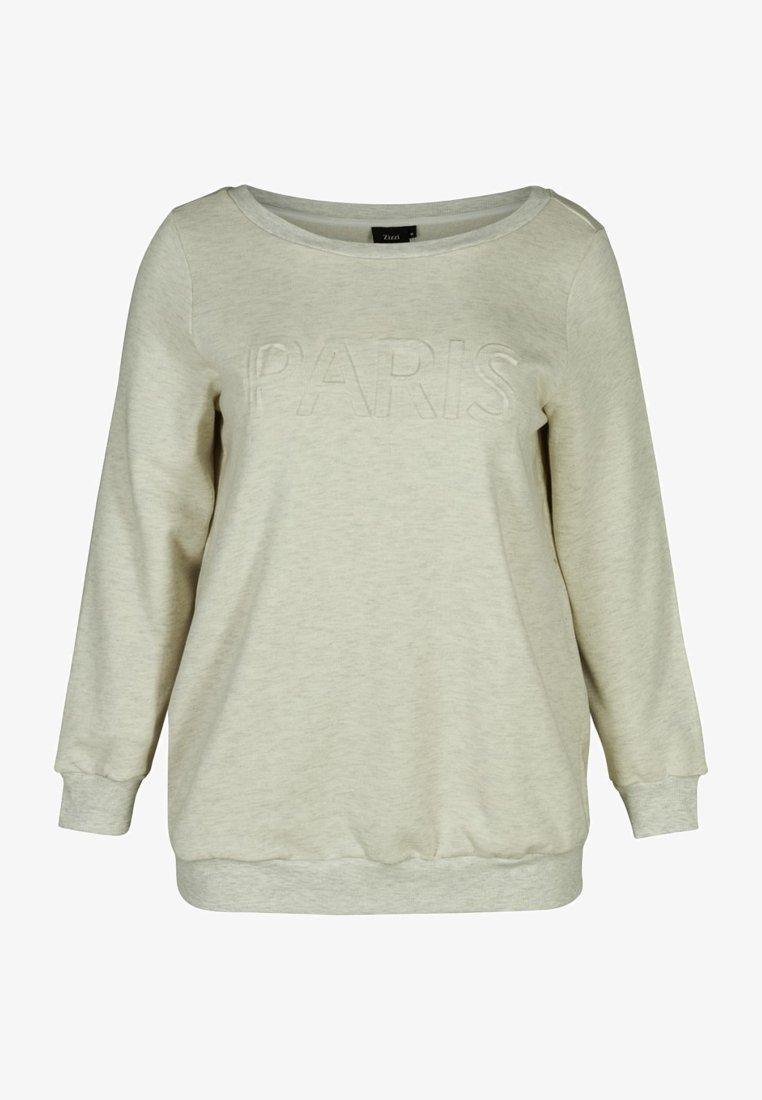 Zizzi - Sweatshirt - sand