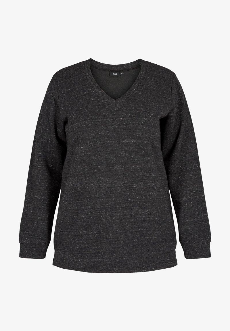 Zizzi - Sweatshirt - dark grey