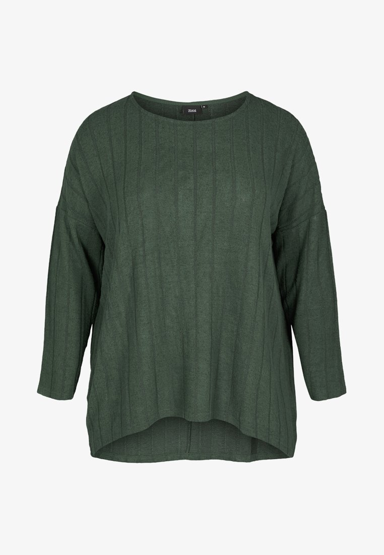 Zizzi - Strickpullover - dark green