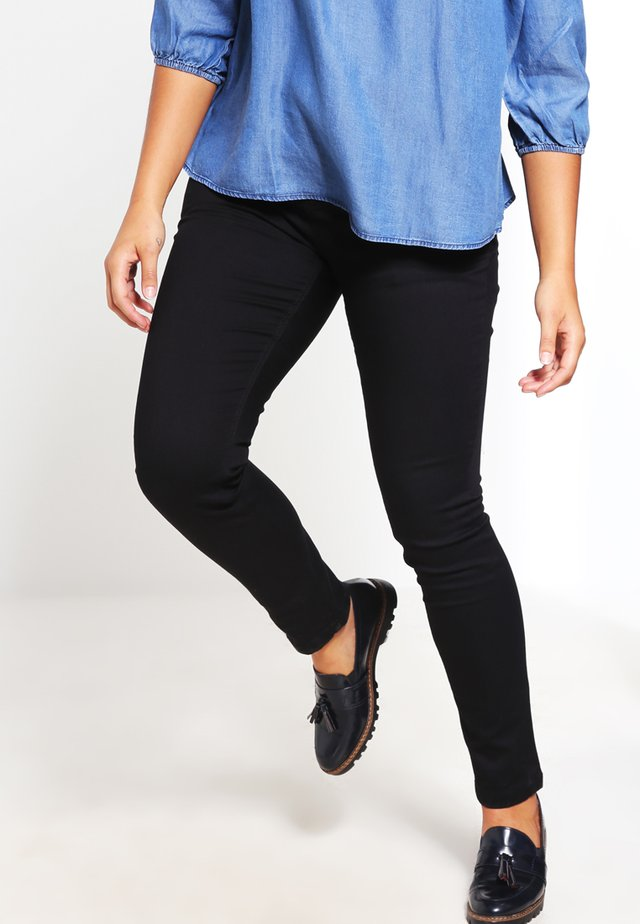 NILLE - Jeans slim fit - black