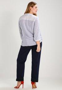 Zizzi - GEMMA - Straight leg -farkut - blue denim - 2