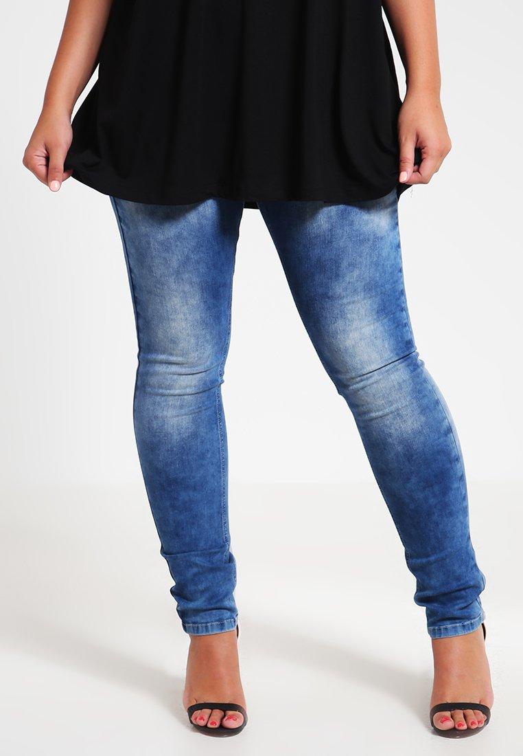 Zizzi - SANNA - Jeans Slim Fit - blue denim