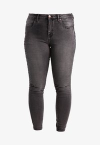 Zizzi - AMY LONG - Jeans Skinny Fit - dark grey denim - 5