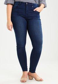 Zizzi - AMY LONG - Jeans Skinny Fit - blue denim - 0