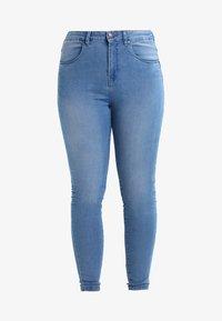Zizzi - AMY LONG - Skinny džíny - light blue - 5