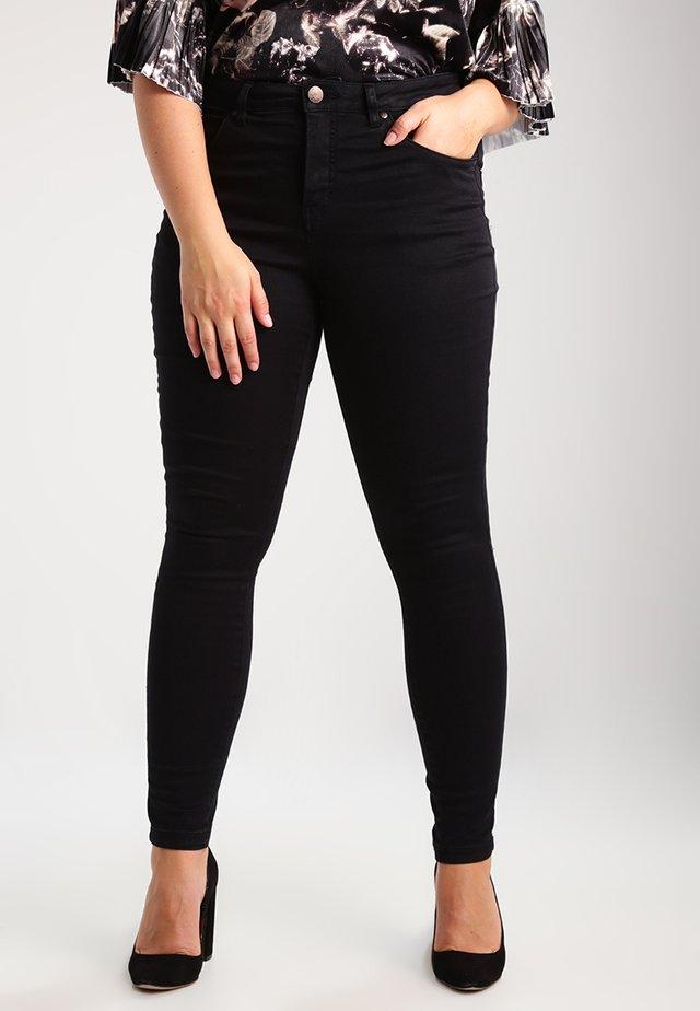 AMY LONG - Skinny džíny - black