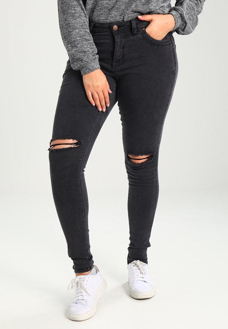 Zizzi - AMY - Jeans Slim Fit - dark grey denim
