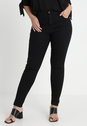LONG AMY - Jeansy Slim Fit - black