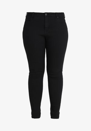 LONG AMY - Slim fit jeans - black