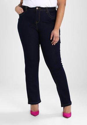 MOLLY - Slim fit jeans - dark blue rinse