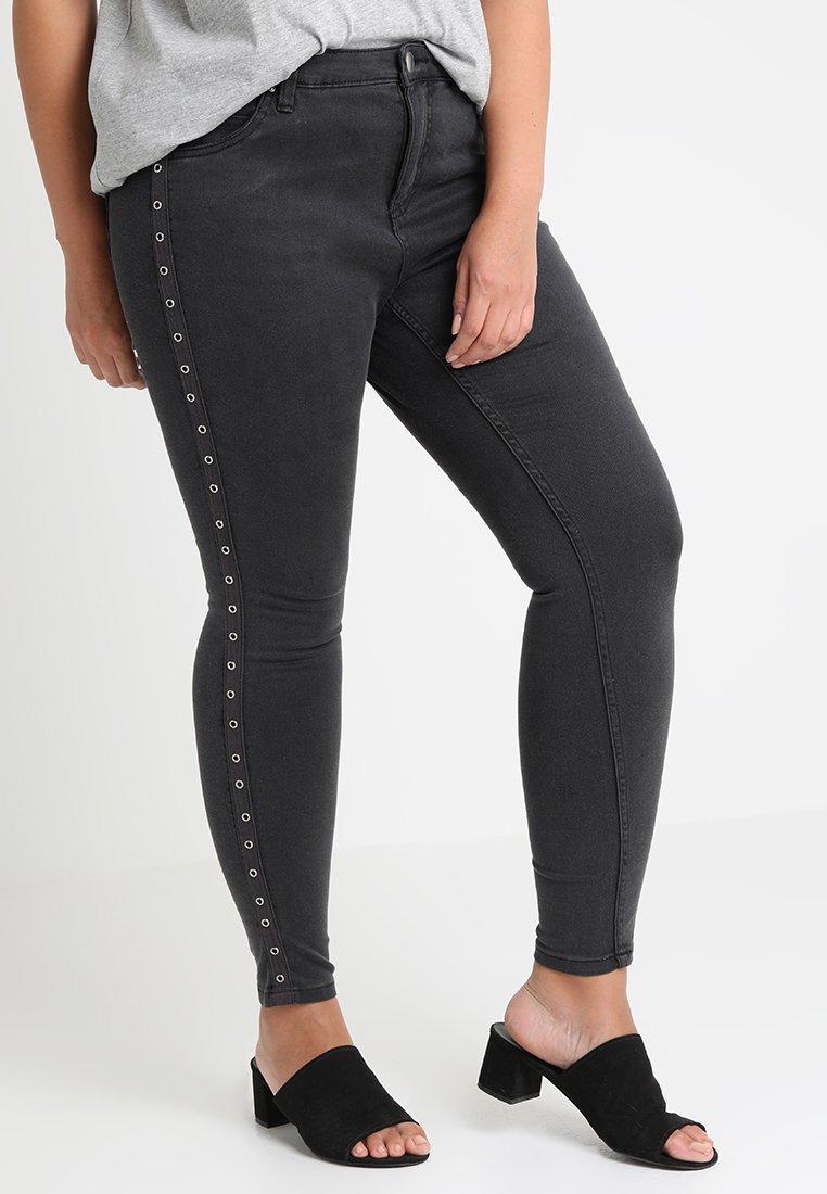 Zizzi - Jeans Skinny Fit - dark grey denim