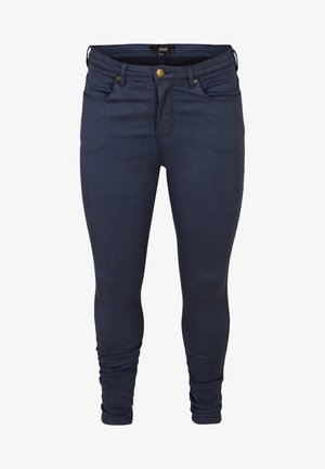 LONG AMY SUPER - Jeans Skinny - mood indigo